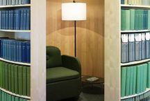 Rincones de lectura / Ideas para ambientar rincones de lectura.