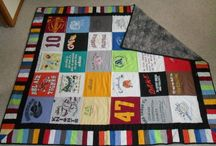 T shirt quilt/projects