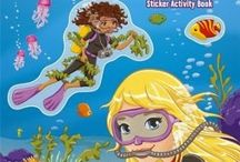 LEGO Friends: Splash & Stick Sticker Activity Book [Paperback] (New Arrival)