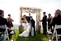 Grey + Yellow Wedding / Planned + styled by PDR Events; Photos by Kristin Spencer Photography