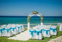 NEW Luxury Cape wedding venue in Zante! / A Luxury Cape wedding offers a beautiful beach and garden setting for your wedding in Zante and is perfect for those looking for a stylish beachside wedding abroad