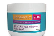 Products / The Radiantly You product line.