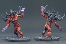 Massive Darkness painted miniatures