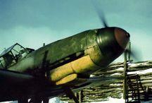 WW2 Aviones de combate / by Javier Martinez Saez