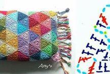 almohadón a crochet