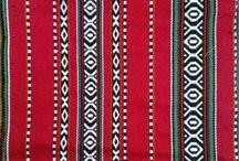 Sadu Weaving Designs Fabrics For Arabic Lounge Setting