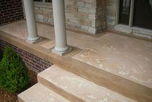 Des Moines IA - Ames & Iowa City Decorative Concrete & Concrete Sealing / The Work of Des Moines Iowa Epoxy Flooring & Concrete Resurfacing  & Sealing Contractor . . . Sealwize of Iowa