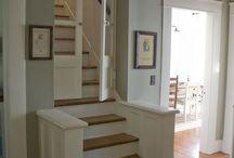 лестница из гостиной