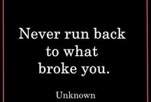 Never Look Back Quotes / http://www.lettinggoandmovingonquotes.com/category/never-look-back-quotes/