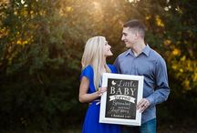 Our Pregnancy Announcement Photo shoot!  / by Alexandra Torres