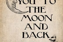 To the Moon and Back / by Barbara Clarke