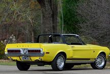 68 Shelby GT500KR Convertible