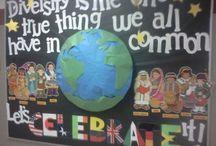 Racism classroom displays