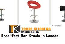 Breakfast Bar Stools in London / No kitchen is complete without the collection of best quality items which hold the sheer ability to impart both personality and warmth.  Choose from our collection of bar stools which scores high on parameters such as style, quality and overall functionality.