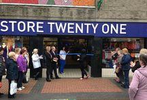 Grangemouth, Scotland! Store Twenty One has arrived!
