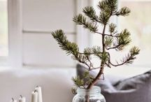 Scandinavian Christmas Ideas / Ideas for Christmas decorations and DIY gifts - scandinavian simple modern style.