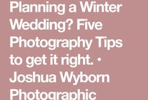 Winter Wedding / Snowflake, glitter and glitz. If Winter is your season then make it an extra time to celebrate by setting your wedding during it's months and theming your big day to match.