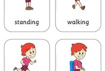 actions / Flashcards and games on movements