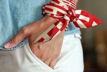 Wrist scarves