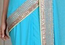 Saree and blouses