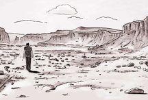 Drawings by Patrick Tersteeg