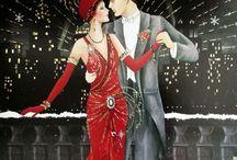 Christmas dance cards