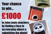Faces in Places Competition! / You could win £1000 in John Lewis vouchers by finding a face in an everyday object, taking a picture & submitting it to us. Here's some examples we've already received!