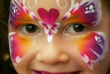 Face Painting / Easy face painting ideas for garden party! Must be simple but very cool ;) x