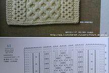 pletení a vzory