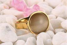 +Designer Damen Edelstahl Ring 316 L (Chirurgenstahl) Opal+Gr 52 (16,5 mm Ø) 15,90 Euro