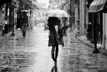 Save It For a Rainy Day / I find comfort in rainy days. I love to fall asleep listening to the sound of raindrops. I find I am most happy when it rains ☂