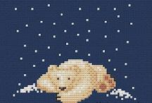 Cross stitch Animals.