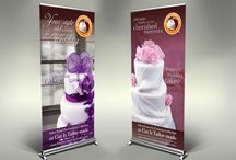Point of Purchase Branding / Posters. Standees, Danglers, Tent Cards etc.