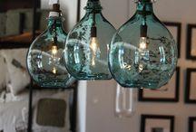 Pendant dining room table lights
