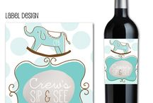 Sip and See / sip and see, sip and see baby, sip and see shower, baby shower, babies, invites, come meet baby, Party Box Design, sip and see invites, sip and see invitations