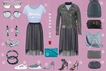 Módna sukňa & bunda