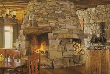 Stone Fire places
