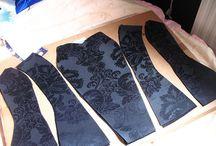 Corset patroon voor eigen gemaakte jurk