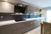 A Stunning Result / Leading busy working lives and with a young family, Neil and Joanne Pye called in the experts at Kitchen Design Centre when they decided to completely re-model the kitchen and dining room of their new home.