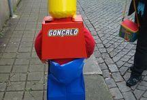 DIY - Carnaval 2014 / LEGO (Lego Costume) Fantasia de Carnaval