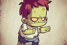 Zombie Cartoons