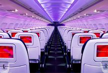 Airlines - Economy Class / Economy class cabins and seats for #airlines throughout the world  #travel #economyclass