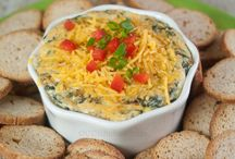 Appetizers/dips / yummy snack food
