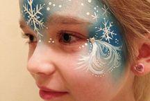 Elsa facepaint