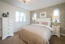 Beautiful Bedrooms / Be inspired by some of our beautiful show home bedrooms.