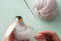 Wool Projects / Needle Felting