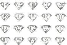 """Stencil """"lettere"""""""