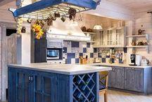 Люстра на кухню в стиле Провансаль