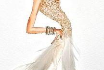 Fashion drawing models & tutorials