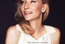 Cate. Blanchett / by Rachel Crawford
